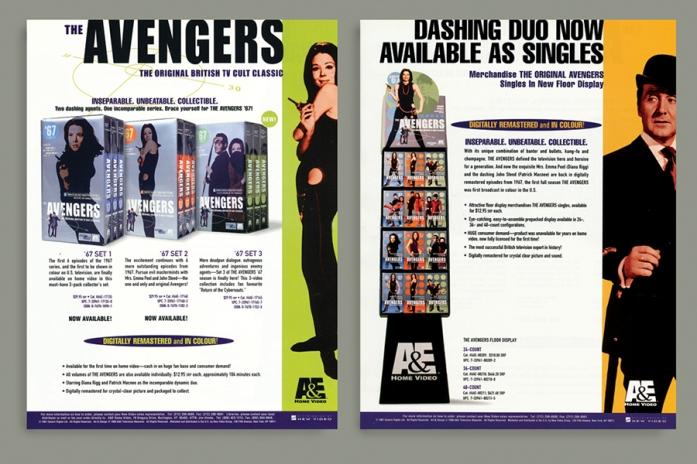 Avengers sellsheet