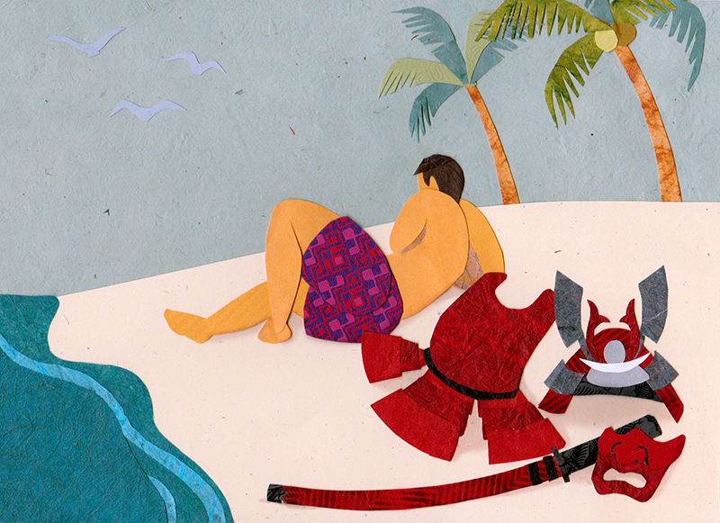 Illustration for Financial Samurai