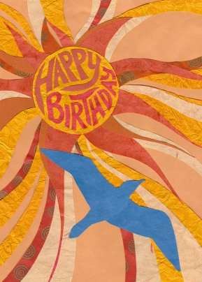 Birthday Sun for Greeting Card Universe