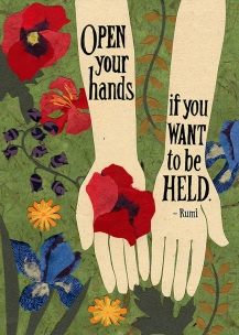 Garden Hands for Greeting Card Universe