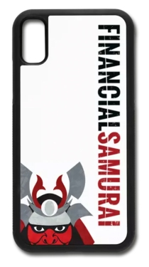 Financial Samurai phone case