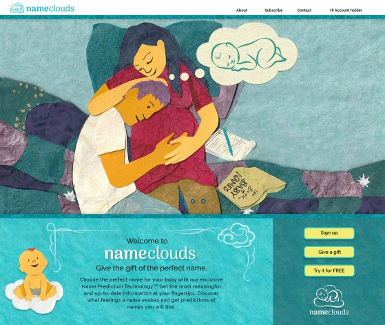 Home page: Illustrations